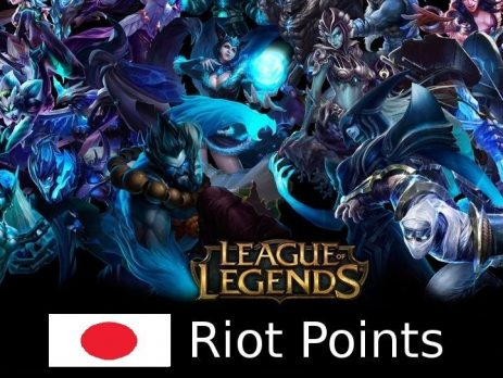 League Of Legends Rp Card Japan Top Up Guide Egycards
